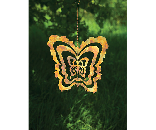 ANCIENT GRAFFITI - Cutout Butterfly Metal Hanging Ornament ANCIENTAG86043 638071786778