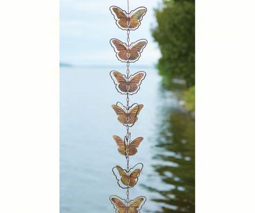 ANCIENT GRAFFITI - Butterflies Flamed Metal Hanging Ornaments ANCIENTAG87071 638071782817