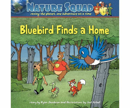 ADVENTURE KEEN - Bluebird Finds A HomeSoftCover Bluebird Kids Book (AP33113) 9781591933113