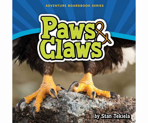 ADVENTURE KEEN - Paws and Claws Kids Book (AP34257) 9781591934257