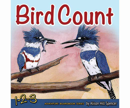 ADVENTURE KEEN - Bird Count Kids Book (AP34271) 9781591934271