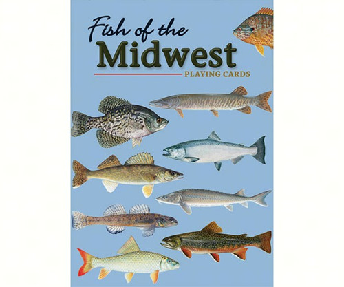 ADVENTURE KEEN - Fish of the Midwest Playing Cards (AP34943) 9781591934943