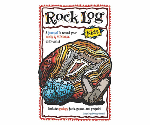 ADVENTURE KEEN - Rock Log - Kids Book (AP37777) 9781591937777