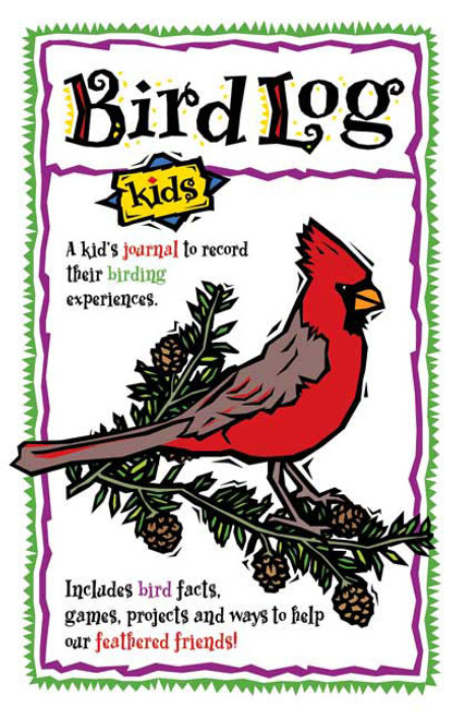 ADVENTURE KEEN - Bird Log Kids Journal Book (AP61553) 9781885061553