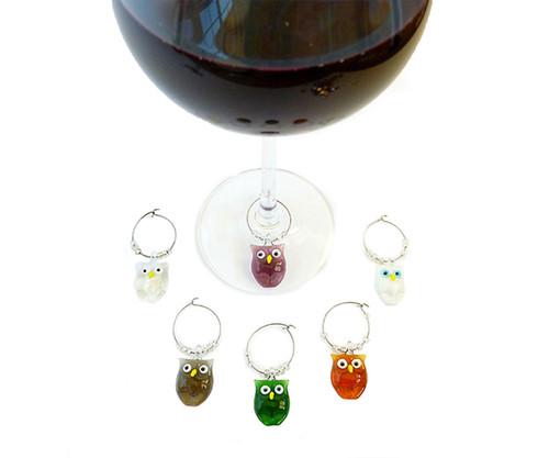 BELLA VITA - AWM Owl - Wine Marker Sets (AWMOWL) 822372600097