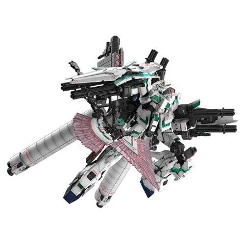 BANDAI - 1/144 #30 Full Armor Gundam Unicorn Gundam UC RG Plastic Model Anime Figure Kit (5055586) 4573102555861