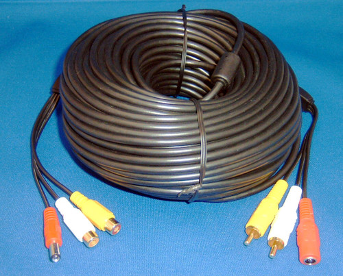 BIRDHOUSE SPY CAM - Hawk Eye 100' Extension Cable (for Cam) (BCCAB100GC) 649241841456