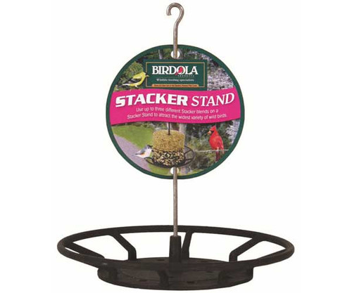 BIRDOLA PRODUCTS - Stacker Stand Feeder Suet and Seed Log and Cake Feeder (BDOLA54618) 732493546184