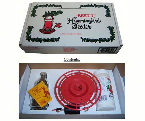 BEST 1 - Hummingbird Feeder 8 oz Kit (BEST8KIT) 036027123545