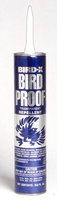 BIRD- Bird-Proof Repellent Gel - 10 oz. Tube (BIRDXBPCARTEACH) 706069153182