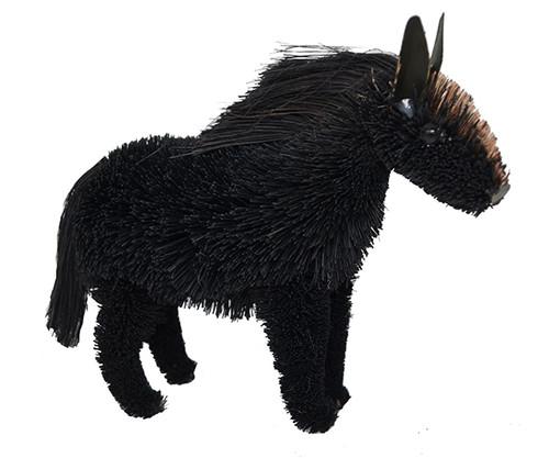 BRUSHART - Horse Black Brush Figurine (BRUSH0179) 645194202207