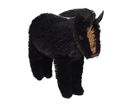 BRUSHART - 12 inch Horse Black Brush Figurine (BRUSH0179L) 645194200296