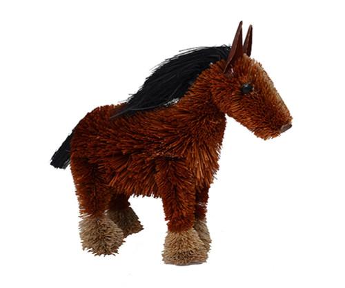 BRUSHART - Horse Shire Brush Figurine (BRUSH0180S) 645194202214