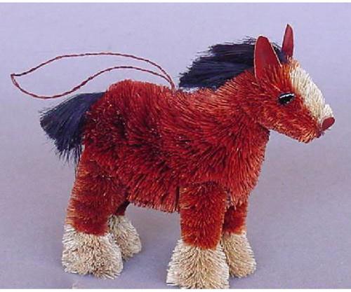 BRUSHART - Horse Shire (Christmas) Ornament 013008030009