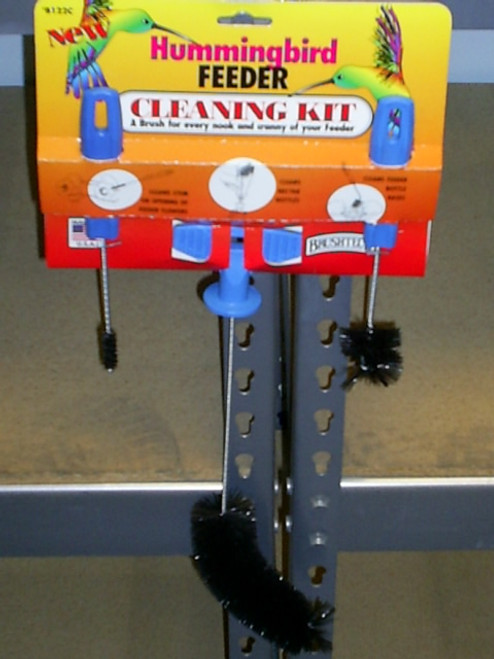 BRUSHTECH BRUSHES - Hummingbird Feeder Cleaning Brush Kit (BTB122C) 079115001226