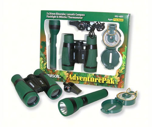 CARSON OPTICAL - Kid's Outdoor Adventure & Binocular Set CARSONHU401 750668005175