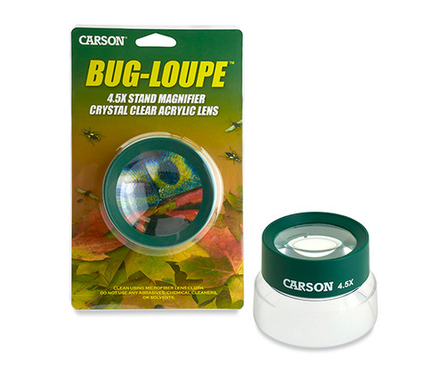 CARSON OPTICAL - 5x Stand Magnifier Outdoor - (bugs) Green CARSONHU55 750668005113