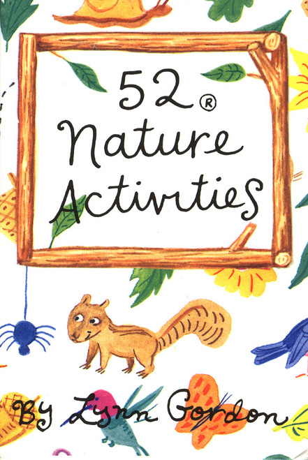 CHRONICLE BOOKS - 52 Nature Activities Card Game (CB9780811810968) 9780811810968
