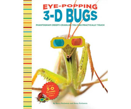 CHRONICLE BOOKS - Eye-Popping 3-D Bugs Kids Book (CB9780811877725) 9780811877725