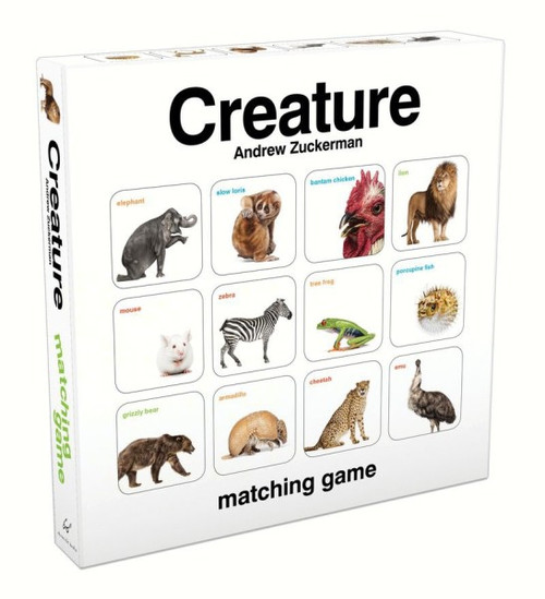 CHRONICLE BOOKS - Creature Matching Game CB9781452117232 9781452117232