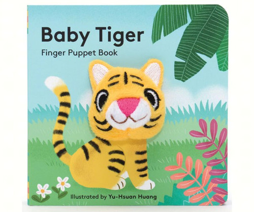 CHRONICLE BOOKS - Baby Tiger Finger Puppet Book CB9781452142364 9781452142364