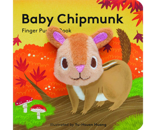 CHRONICLE BOOKS - Baby Chipmunk Finger Puppet Book (CB9781452156125) 9781452156125