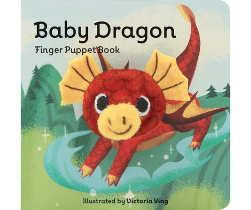 CHRONICLE BOOKS - Baby Dragon Finger Puppet Book (CB978145217077) 9781452170770