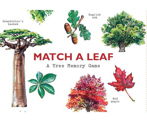 CHRONICLE BOOKS - Match a Leaf Matching Card Game (CB978178627228) 9781786272287