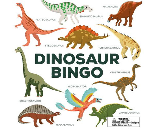 CHRONICLE BOOKS - Dinosaur Bingo Game (CB978178627241) 9781786272416