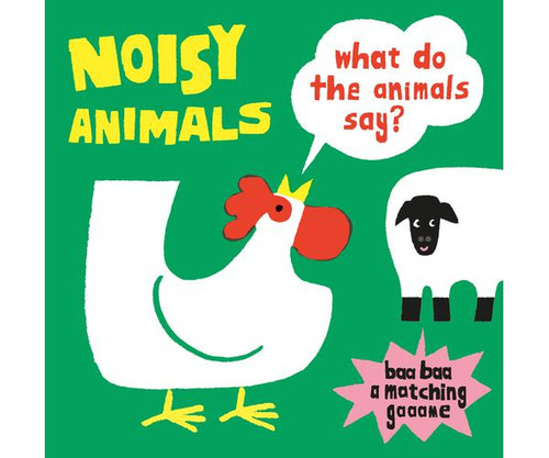 CHRONICLE BOOKS - Noisy Animals (A Matching Game) (CB978178627242) 9781786272423