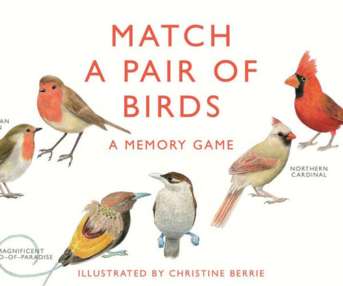 CHRONICLE BOOKS - Match a Pair of Birds Memory Game (CB9781856699662) 9781856699662