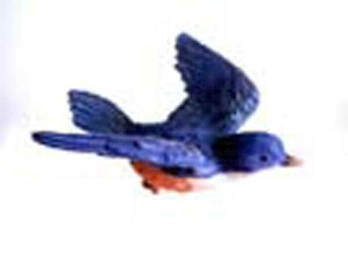 CLARK COLLECTION - Blue Bird Window Magnet (CC52005) 816667520054