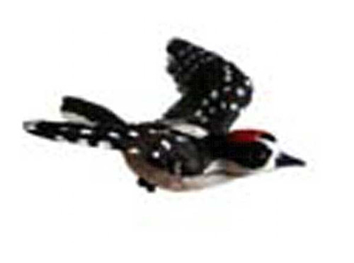 CLARK COLLECTION - Downy Woodpecker Window Magnet (CC52032) 816667520320