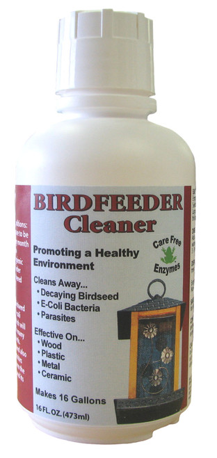 CARE FREE ENZYMES - Birdfeeder Cleaner 16 oz (CF94722) 014425947222