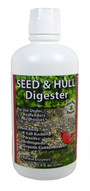 CARE FREE ENZYMES - Seed & Hull Digester 33.9 oz (CF94727) 014425947277