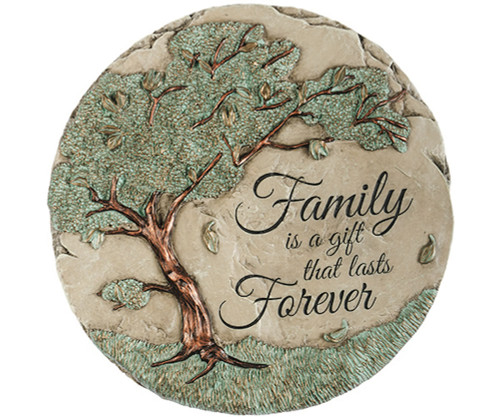 CARSON HOME ACCENTS - Family Forever Garden Stone (CHA10485) 096069104858
