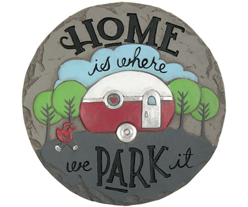 CARSON HOME ACCENTS - Decor Stepping Stone Park It (CHA11145) 096069111450