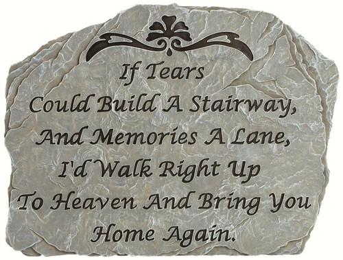 CARSON HOME ACCENTS - Garden Stone Tears CHA12961 096069129615