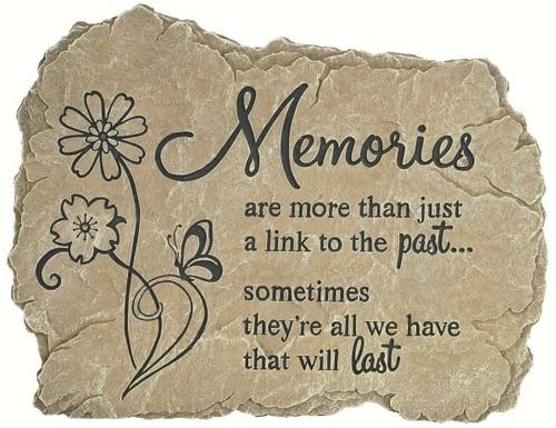 CARSON HOME ACCENTS - Garden Stones Memories CHA12971 096069129714