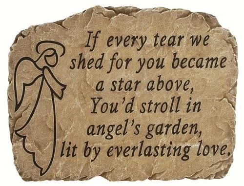 CARSON HOME ACCENTS - Garden Stone Angel's Garden CHA12972 096069129721