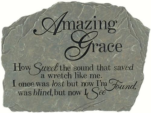 CARSON HOME ACCENTS - Garden Stone Amazing Grace CHA12991 096069129912
