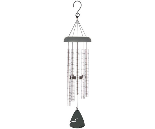 CARSON HOME ACCENTS - Always Near (Decorated Design) - 30 inch Sonnet Wind Chime CHA62913 096069629139