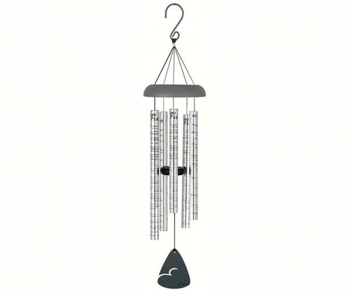 CARSON HOME ACCENTS - 23rd Psalm 30 inch Sonnet Wind chime (CHA62957) 096069629573