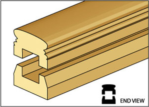 """CLASSICS - Dollhouse Porch Rail Set - 4 to a package. 1"""" Scale CLA77211 731851772111"""