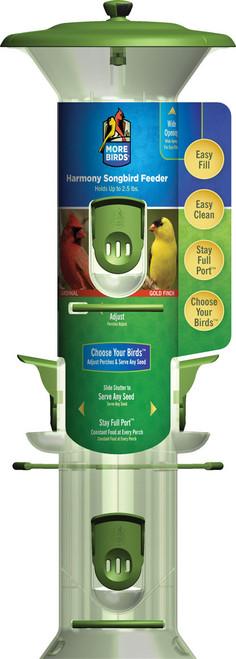 CLASSIC BRANDS - Harmony Seed Bird Feeder (holds 2 lbs) (CLASSIC23) 815562012305