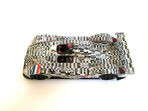 RARE SCX 61160 Dome Judd S 101 W/lights #16 Holland 24h Le Mans 2002 1:32 Slot Car - Pre-Owned