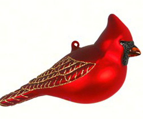 COBANE STUDIO - Northern Cardinal Glass Ornament (COBANEC399) 874504002538