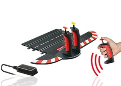 CARRERA - 1:32 Scale Digital Wireless Plus Duo Slot Car (Hand Throttle) Controller Set (10109) 4007486101098