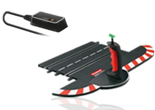 CARRERA - 1:32 Scale Digital Wireless Plus Single Slot Car (Hand Throttle) Controller Set (10110) 4007486101104