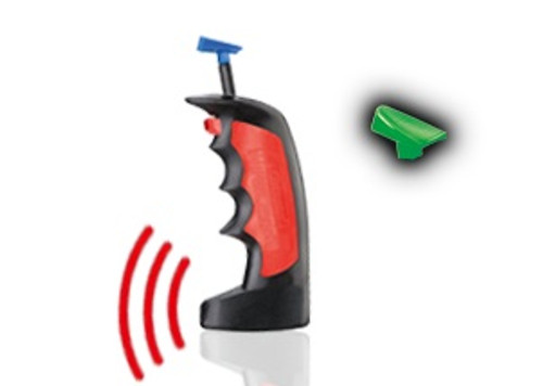 CARRERA - 1:32 Scale Digital Wireless Plus Single Slot Car Speed (Hand Throttle) Controller (10111) 4007486101111